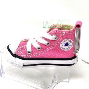 Converse Key Chain Ctas Sneakers Keychain  Pink